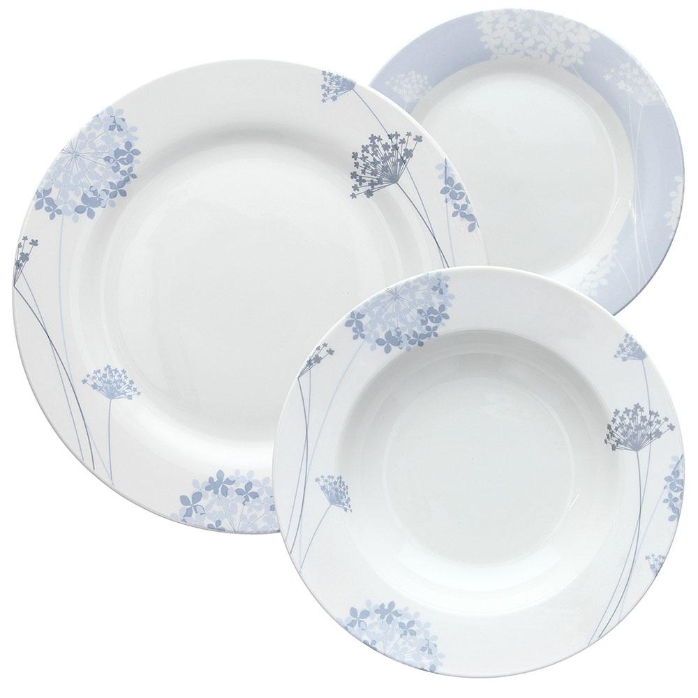 18 Pieces Tognana Olimpia Dinner Set White