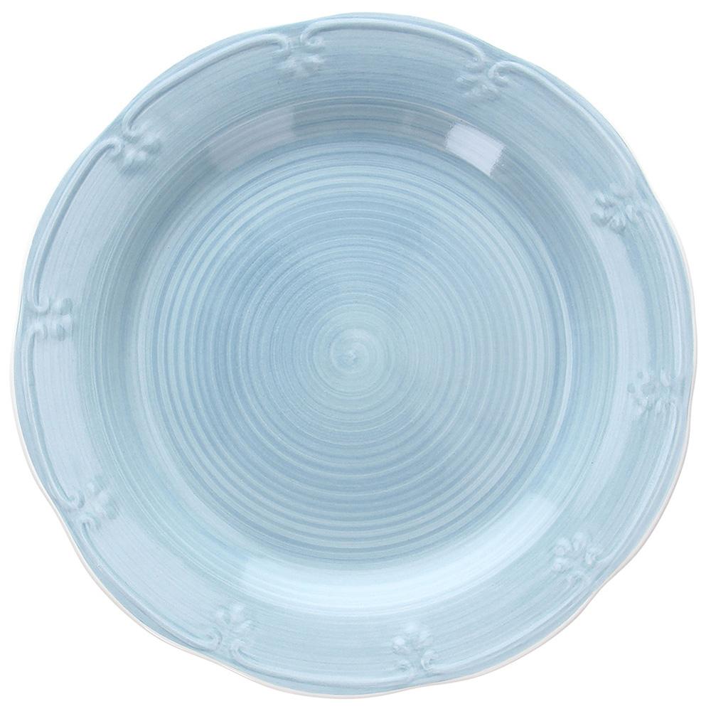 da 27 cm Bianco Piatto piano in stoneware